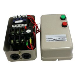 Wholesale A HP Three Phase Magnetic Starter Motor Control V AC Coil Pole