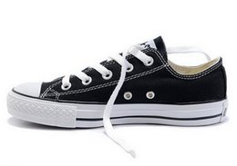 Wholesale DORP SHIPPING NEW size New Unisex Low Top Adult Women s Men s Canvas Shoes colors Laced Up Casual Shoes Sneaker shoes