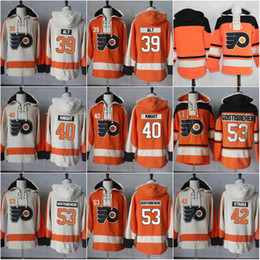 Wholesale 39 Mark Alt Vincent Lecavalier Shayne Gostisbehere Petr Straka Jerseys Philadelphia Flyers Hockey Jersey Hoodie Sittched Hoodies