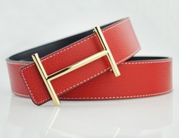 Wholesale new fashion brand belt quality manual gold and silver buckle belt real leather alloy belt for male and female