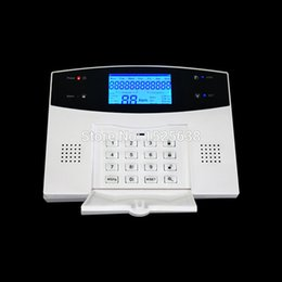 Wholesale cheap wireless zones intrusion remote control panel alarm system china with pir sensor