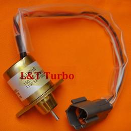 Wholesale piece retailing Stop Solenoid Yanmar volt ES S5SUC12S engine governor TB235 TNV88 BPTB2 HYUNDAI R5