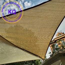 Wholesale X4x5 M Right angle HDPE UV Sun Sail Shade Shade Awnings for pool shade