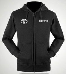 Wholesale Toyota S shops zipper hoodie aftermarket standard custom clothing for men and women work nightwear jacket zipper sweatshirts