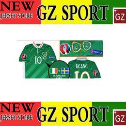 Wholesale 13 JUNE Ireland top thai version jersey customize patch