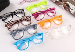 100PCS beach Color sunglasses Clear Lens Glasses women clear sunglasses men Transparent sunglasses 15 colors
