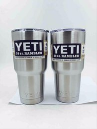 Wholesale YETI vacuum cup OZ Auto vacuum cup large capacity thermal insulation YETI OZ Stainless Steel YETI Rambler Tumbler Cup