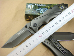 Strider knives 313 Survival folding knife 440C 57HRC Titanium Blade knife Outdoor Camping hiking tactical knives