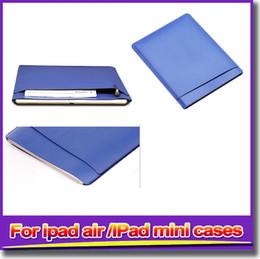 IPad leather cases simple style ipad mini cases cover protection case for ipad mini 2 3 4 ipad air 2