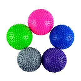 Wholesale Yoga Half Ball Fitness Equipment Kids Elder Durian Ball Massage Mat Ball Exercise Balance Ball Point Gym Yoga Pilates Ball