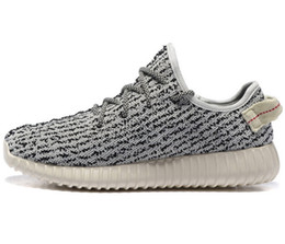 Wholesale Mens And Womens Boost Turtle Dove Running Shoes Footwear Sneakers Kanye West Boost milan Sport Sneakers Cheap Unisex Big Size