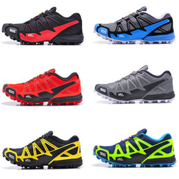 Wholesale Original Sale Mens S LAB FELLCROSS Trail Outdoor climbing Running shoes waterproof Black White Green Blue Pink