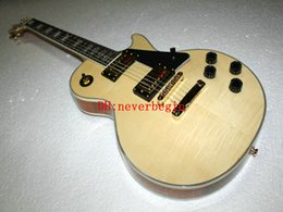 wholesale China Guitar Factory New Arrival Custom guitar Natural color Electric Guitar HOT Free shipping