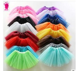 2016 Hot New Special TUTU skirt skirt dance performances veil triple net girls skirt Ballet skirt