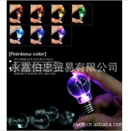 Crazy hot bulb Keychain colorful colorful Keychain lights unbreakable 20g