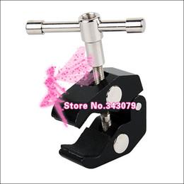 Plates-formes de caméra pour dslr à vendre-5pcs Super Clamp pour flash stand Magic Arm Appareil photo Caméscope Moniteur LCD LED Light DSLR Rig Movie Kit Photo Studio Accessoires