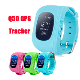 New Q50 GPS Tracker for Child Kid smart Watch SOS Safe Call Location Finder Locator Trackers smartwatch for Kids Children DHL Free OTH240
