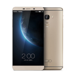 Wholesale 4G LTE LETV MAX X900 Cell Phone Snapdragon Octa Core Inch IPS Screen P Android Fingerprint ID G RAM G ROM