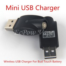 510 USB Charger with IC Protection for 9.2mm eGO Series Electronic Cigarette Battery - Black by DHL