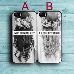 Wholesale Phone Case need a blonde Best Friend cover plastic back case for iPhone s s c s Plus iPod touch Samsung s6 edge