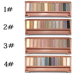 Wholesale Hot Sale Professional Makeup Eye Shadow Matt Pearl Earth Colors Glitter Powder Color Eye Shadow Iron Box Packing No Logo