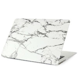 Promotion macbook shell 13 Plastic Cover Case Eau Decal Coque de protection pour MacBook Air Pro Retina 11 12 13 15 pouces PC portable persillage Cases New Style