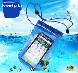 Hot Sale Mobile Phone Waterproof Pouch Bag Case Cover Underwater Touch Water Proof Phone Accessories&Parts, Outdoor Travel Sport