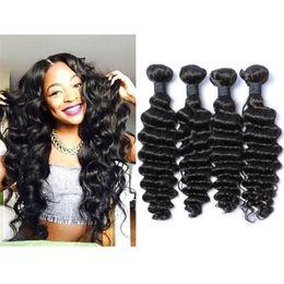 8A Brazilian Deep Curly Virgin Hair Unprocessed Brazilian Deep Wave 3 Bundles Brazilian Curly Hair Cheap Human Hair Extensions
