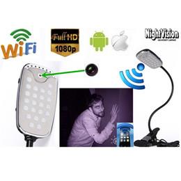 Wireless 1080P Wifi Ip P2P Camera Desk Lamp Surveillance Security DVR Spy Hidden Camera Video Recorder Surveillance Camcorder