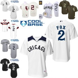 Wholesale White Throwback Nellie Fox Authentic Jersey Men s Mitchell And Ness Chicago White Sox Turn Back The Clock