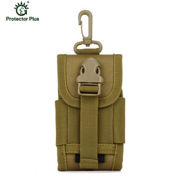 Wholesale Tactical Pouch Waist Bag For Molle Cell Phone Belt Bag For Smartphone Waist Pack MOLLE PALS Coyote Brown Mini Buckle Utility A27