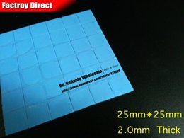 Wholesale x cm cm mm Thickness GPU Thermal Transfer Heatsink Silicone Pad for Many Brands Notebook Repair Test