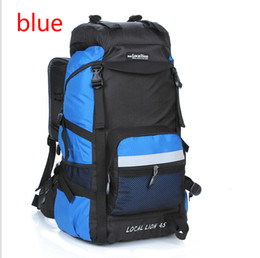 45L Travel Hiking Sport Backpacks Luggage knapsack Outdoors Climbing School Bags Packsack For Men Women