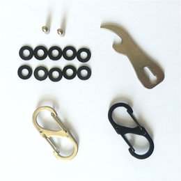 Wholesale Creative Gifts Popular Keyholder Kit of Accessories Spacers Screw Posts Hook for the car key Bottle opener Carabiner