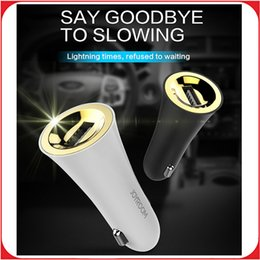Wholesale JOYROOM Mini USB Car Charger Single Output Fast Charging Auto Cigar Lighter Adapter for Mobile Phone Tablet