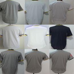2016 New Pittsburgh jersey Personalized Stitched Coolbase sport jerseys cheap Customized Any name NO. white grey Black Baseball size XS-6XL