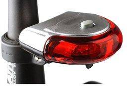 Wholesale UFO Shape Taillight Bike Light LED Automatic Bicycle Lights Bicycle Taillights Bike Warning Light BL027