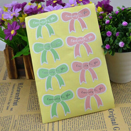 latest paper baking butterflyer luxury gift package self adhesive sticker label