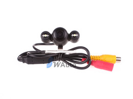 LED Car Rear View Camera Backup Camera 2.4G Wireless   Wire Rear Camera HD 140 Angle Lens
