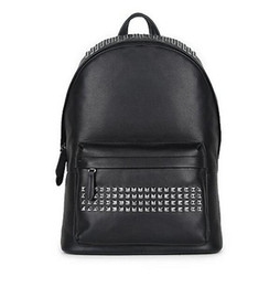Wholesale Manufacturers free mail in the latest fashion head layer real cowhide men backpack