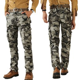 Wholesale Marine Mens Pants Twill Straight Rugged Milltary Army Overalls Pants Outdoor Trousers Breathable Large Size