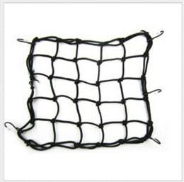 Wholesale 5 Colors cm Motorcycle string bag helmet fuel tank Luggage net Mesh Web Bungee elastic rope motorcycle accessories