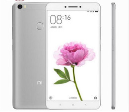 Wholesale Original Xiaomi Mi Max Snapdragon650 Hexa Core Fingerprint ID G RAM Full Metal FDD LTE G MP P mAh Mobile Phones