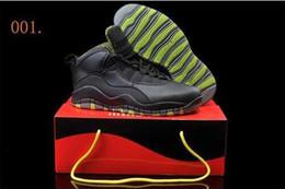 Wholesale Khaki Colour Sports Shoes - 19 Colours Free Shipping New Model Air Retro X 10 Men's Men's Basketball Sport Footwear Sneaker Shoes