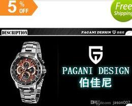 luxury brand high quality fashion tag pagani design quartz movement stopwatch aaa quality original clasp mens watch wristwatch