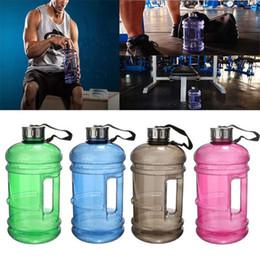 Wholesale 2 L Large Capacity BPA Free Sport Gym Training Drink Water Bottle Cap Jug Workout joyshaker bottle outdoor Enviromental bottle B978