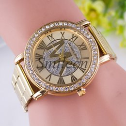 Wholesale Michael Kores MK style wristwatch watches Stainless Steel bracelet top brand luxury replicas Jewelry for men women mens MW04