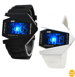 2016 New SKMEI F 0817B waterproof shock Aircraft watches Neon light Cool Watches Men Watch Children Watch Gift