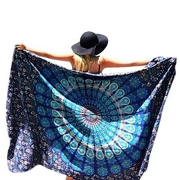 Wholesale 2016 Indian Mandala Tapestry Different Designs Hippie Wall Hanging Tapestries Boho Bedspread Beach Towel Yoga Mat Blanket Table Cloth