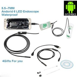 Wholesale USB Laptop Android Endoscope mm LEDs P IP67 Waterproof Inspection With M Cable CD Driver Borescope Vedio Snake Camera